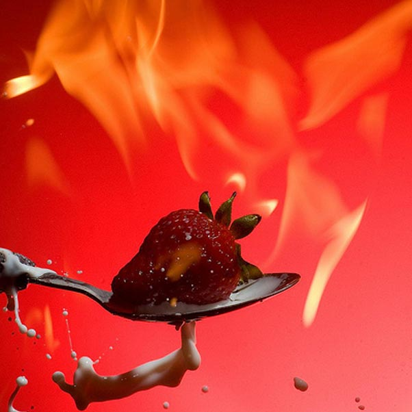 At Flames we do know how to flame tremendous looking and tasting desserts too.