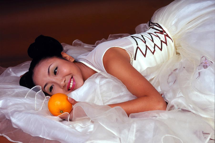 There is always that one small thing we remember, and if it's just your fondness of oranges